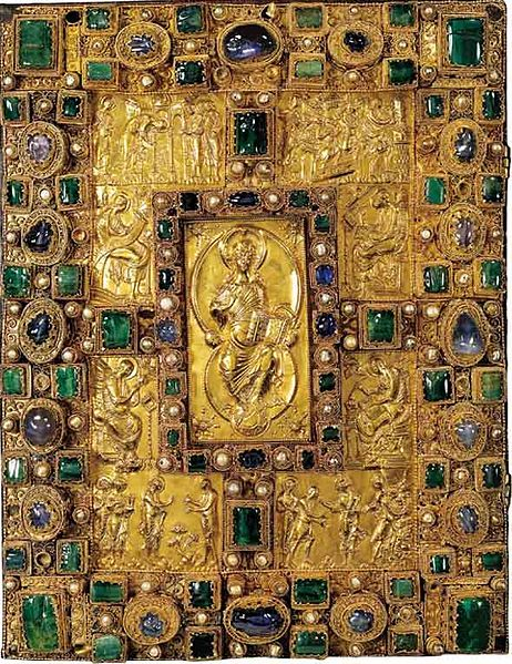 "Codex Aureus of St Emmeram (""Golden Book"")"